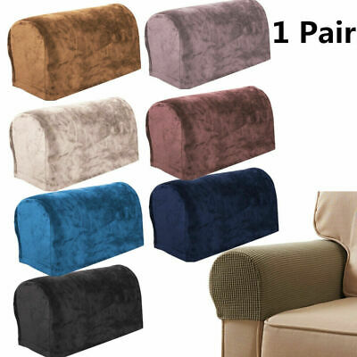 £6.39 • Buy 2pcs Removable Arm Stretch Sofa Couch Chair Protector Armchair Covers Armrest