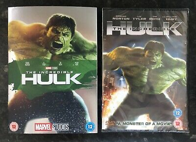 £18 • Buy The Incredible Hulk Marvel Dvd & Ltd Ed Sleeve Rare New & Sealed Mint Condition
