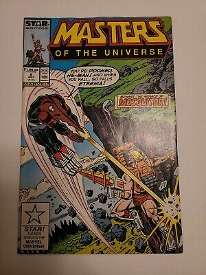 $40 • Buy Masters Of The Universe #8 1986  Marvel Comic
