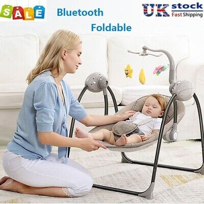 £68.88 • Buy Baby Bouncer Swing Chair Cradle Rocker Seat Bouncy Rocking With Music & Toys