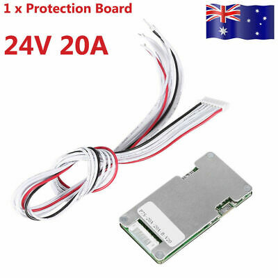 AU10.79 • Buy 24V 20A 7S Lithium Li-ion LiFePO4 Battery BMS Protection Board Cell  HOT