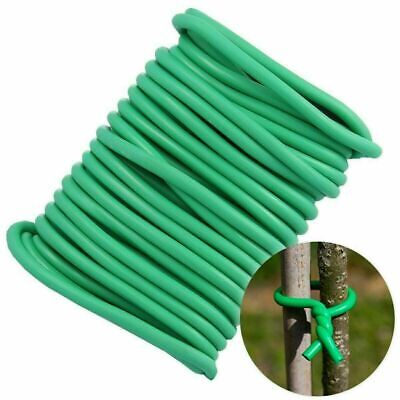 £2.65 • Buy 4.8 M Plant Twine Green Soft Flexible Bendy Garden Support Wire Cable Twist Tie