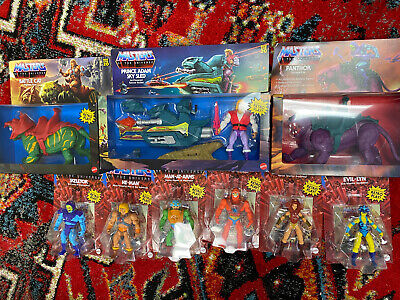$300 • Buy Masters Of The Universe MOTU Retro 2020-21 Complete Set Wave 1 Lot 9