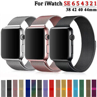 $ CDN5.89 • Buy Sports Band For Apple Watch Series 6 5 4 3 2 Milanese Loop Iwatch Strap 38/44mm