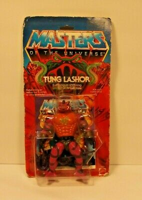 $380 • Buy MOTU, Tung Lashor, Masters Of The Universe, MOC, Carded, Figure, He Man, Sealed