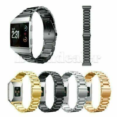 $ CDN21.08 • Buy For Fitbit Ionic Tracker Stainless Steel Link Bracelet Smart Watch Band Strap