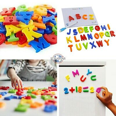 £1.49 • Buy Magnetic Letters Alphabet & Numbers Fridge Magnets Toys Kids Learning