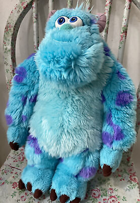£11.99 • Buy Disney Store Stamped Monsters Inc Sully Plush Large Soft Toy Sulley 15 In