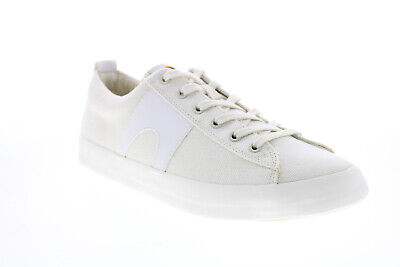 £82.86 • Buy Camper Imar K100704-001 Mens White Canvas Lace Up Lifestyle Sneakers Shoes