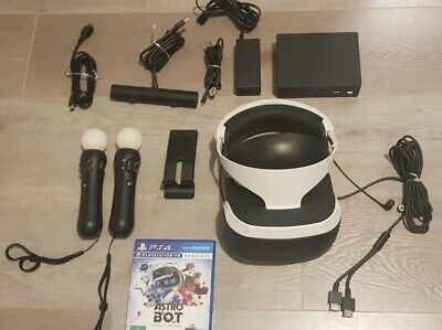 AU400 • Buy PlayStation 4 VR Headset Bundle PSVR PS4 With Astro Bot Rescue Mission Game