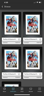$60 • Buy VEVE ULTRAMAN 2D FIRST ART SOLD OUT Digital Common Alex Ross NFT 4/5 AVAILABLE