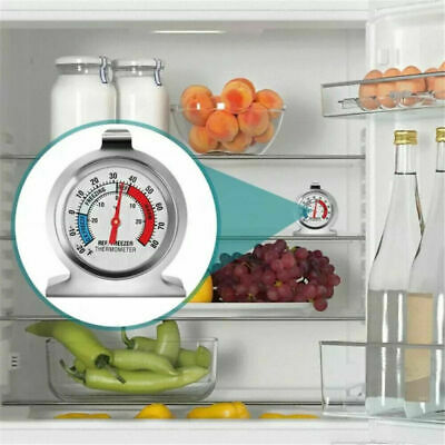 £4.50 • Buy Stainless Steel Refrigerator Freezer Thermometer Dial Temperature Gauge