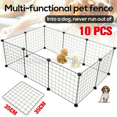 £23.85 • Buy Pet Dog Playpen Puppy Rabbit Animal Play Pen Fence Foldable Run Cage Crate