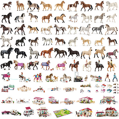 Schleich Horse Club Collection Horse Toy Figures Full Range Of Horses & Playsets • 7.99£