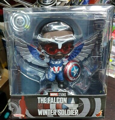 $ CDN54.59 • Buy Hot Toys Marvel The Falcon And Winter Soldier Captain America Cosbaby COSB857