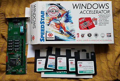 AU234.28 • Buy Vintage VESA VGA Card Diamond Speedstar PRO VLB BOX For 486/586