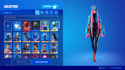 $ CDN187.56 • Buy NEW FORTNlTE Acc 120+ Skins Rare Items PC Compatible