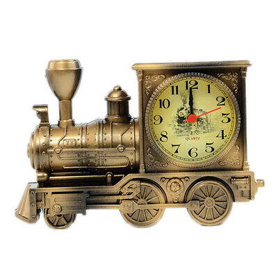Train Model Alarm Clock Creative Home Birthday Gift For Boy Cool Clock • 12.10£