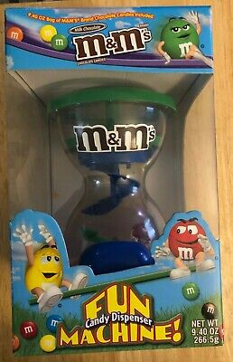 $27 • Buy Vintage Collectable M&M's Fun Machine Candy Dispenser, Used, With Original Box
