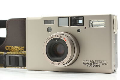 $ CDN2479.56 • Buy [TOP MINT] CONTAX T3 70th Limited Double Teeth Point & Shoot Camera From JAPAN