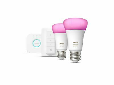 AU196.01 • Buy Philips Hue Starter Kit E27 White And Colour Ambiance