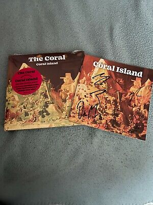AU27.23 • Buy THE CORAL - CORAL ISLAND (EXCLUSIVE LTD SIGNED EDITION) (2 X CD, 2021)