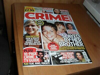 £3.99 • Buy Crime Monthly Magazine Issue 23 February 2021 Rachel Nickell/Backpaper's Death
