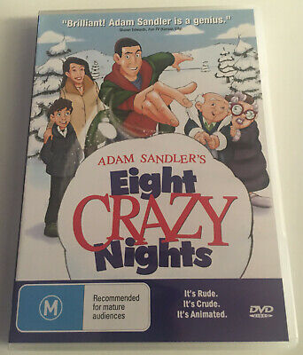 AU22.99 • Buy Adam Sandler's Eight Crazy Nights DVD