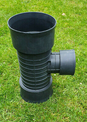 £16.99 • Buy Land Drainage Polypipe Rigidrain 150mm To 100mm 90deg T Junction TWINWALL