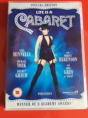 Life Is A Cabaret Special Edition Dvd Liza Minnelli Ex • 2£