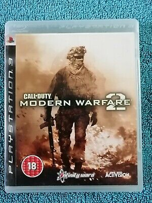 Call Of Duty Modern Warfare 2 Sony PlayStation 3 Ps3 Game - PAL - Free P&P • 2.95£