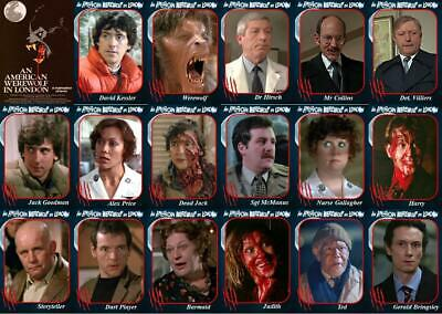 £6 • Buy An American Werewolf In London Movie Trading Cards. Naughton Agutter Horror Cult