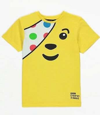 £6.80 • Buy Children In Need Pudsey T-Shirt Size 13-14 Years (NEW)