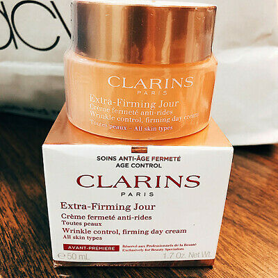 £15.69 • Buy Clarins Extra Firming Jour Wrinkle Control Firming Day Cream For Dry Skin 50ml