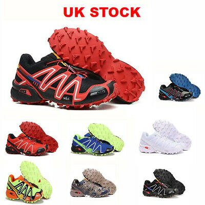 £29.99 • Buy Mens Salomon Speedcross 3 Running Shoes Trainers Sport Offroad Sneakers UK6.5-11