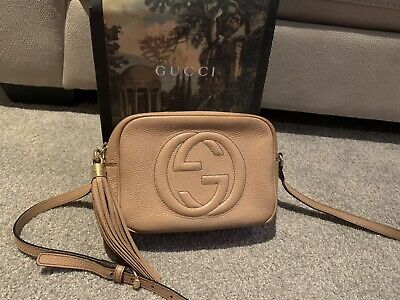 AU980 • Buy Gucci Soho Leather Small Disco Bag, Pre Owned
