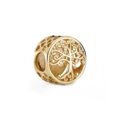 AU37.03 • Buy New Pandora Gold Openwork Family Roots Charm