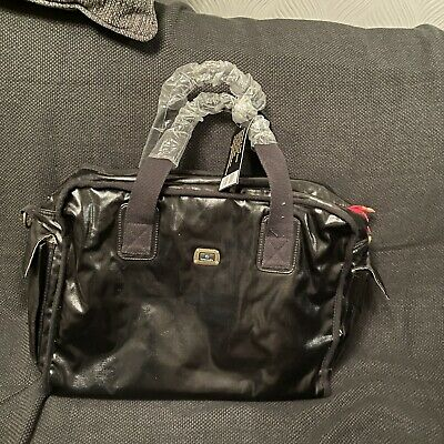 Bnwt Caboodle Baby Changing Bag Patent Leather Look  • 9.99£