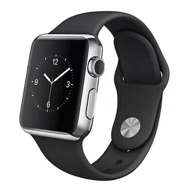 $ CDN145.52 • Buy Apple Watch Series 2 38mm/42mm Smart Watch Stainless Steel Case With Sport Band