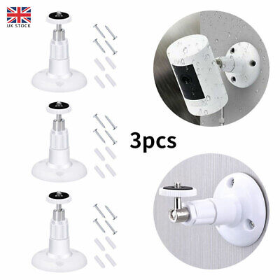 3PCS Wall Mount Bracket For Ring Stick Up Cam Wired/Battery HD Security Camera • 5.01£