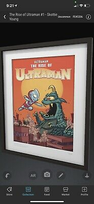 $75 • Buy VeVe NFT Ultraman Skottie Young #1 Uncommon SOLD OUT #2206 Fast Transfer ⚡️