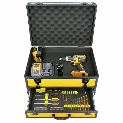 £201 • Buy DeWalt DCD796 18V XR BL Combi Drill With 1 X DCB184, Charger & 70pc Acc. In Case