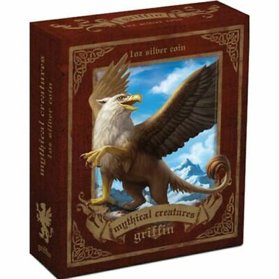 AU31 • Buy 2013 Perth Mint $1 1oz Coloured Mythical Creatures - Griffin Silver Coin D5-834