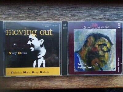 £5.99 • Buy Sonny Rollins - Moving Out (Japan, NO OBI!) CD And Early Recordings Comp CD