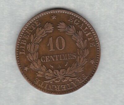 £35 • Buy 1896a Torch France 10 Centimes In Very Fine Condition.