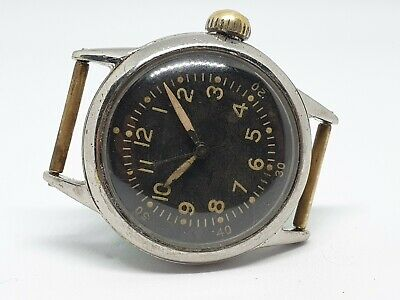 WWII Military Era Waltham British Non Issued Watch Cal 42 • 295£