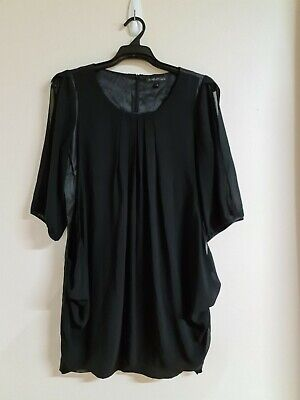 AU18 • Buy Womens FOREVER NEW Black 3/4 Sleeve Top - Size 16