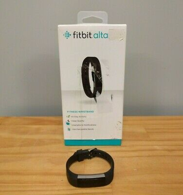 AU50 • Buy Fitbit Alta Fitness Activity Tracker Wristband Watch With Box - Black Large Band