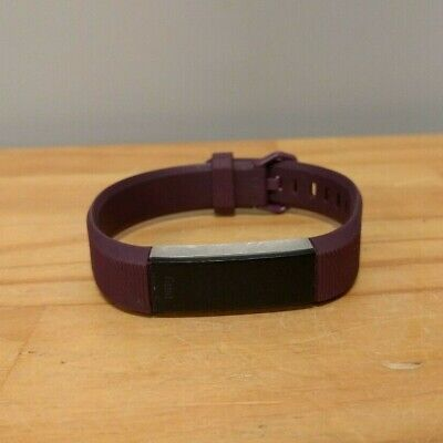 AU49 • Buy Fitbit Alta HR Heart Rate & Fitness Activity Tracker - Purple (Large Band)