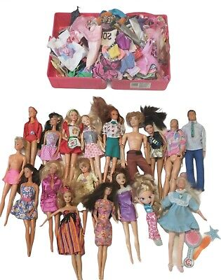$ CDN24.79 • Buy Vintage Mattel Early 1960's And Up Barbies, Clothes And Case!